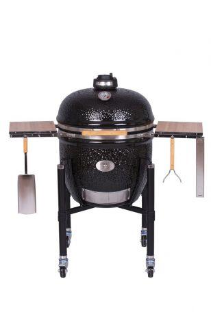 Keraaminen grilli Monolith Le Chef Pro-Serie 1.0 musta