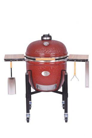Keraaminen grilli Monolith Le Chef Pro-Serie 1.0 punainen