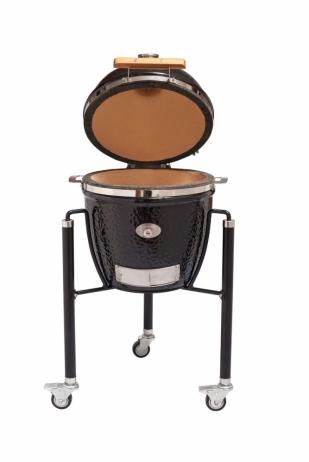Keraaminen grilli Monolith Junior Complete -set musta