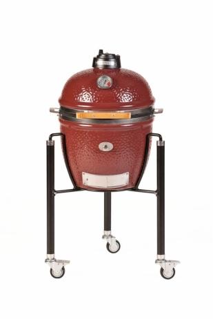 Keraaminen grilli Monolith Junior Complete -set punainen