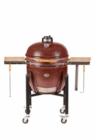 Keraaminen grilli Monolith Le Chef Complete -set punainen
