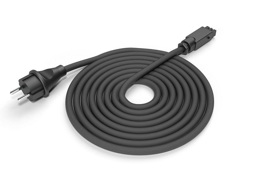 Virtakaapeli Easy-connect Solamagic PREMIUM musta