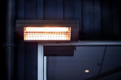 Lämpölamppu Terassille
