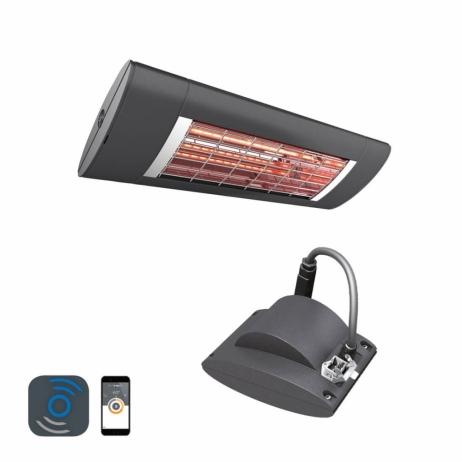 Terassilämmitin Solamagic 1400 PREMIUM BTC Bluetooth