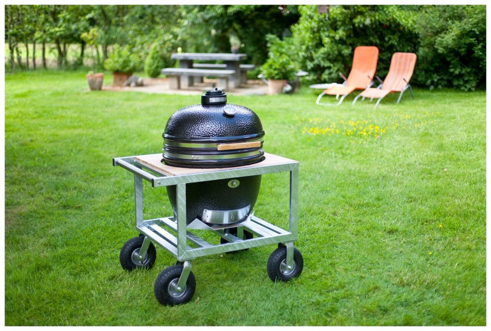 keraaminen grilli monolith classic buggy vaunulla pihano. Black Bedroom Furniture Sets. Home Design Ideas