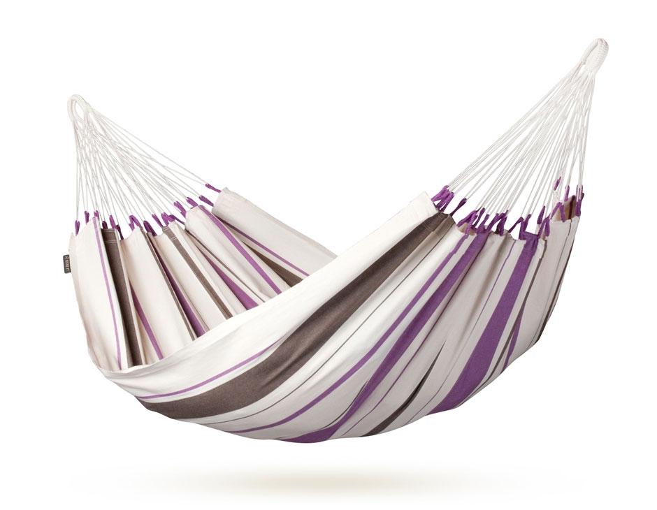 La Siesta Caribena Riippumatto single purple