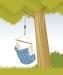 La Siesta Kiinnityssetti riipputuolille puuhun TR-C2