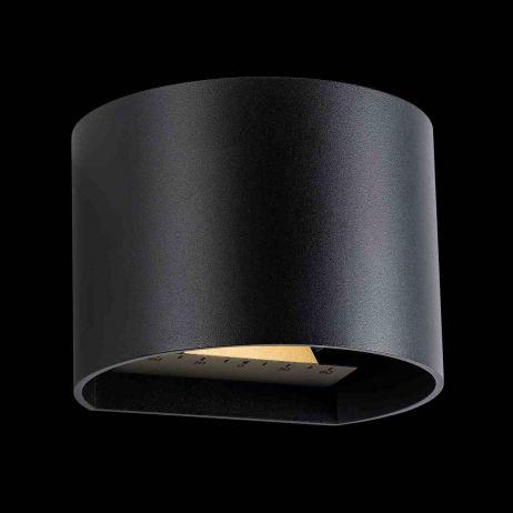 Goura Seinävalaisin LED musta