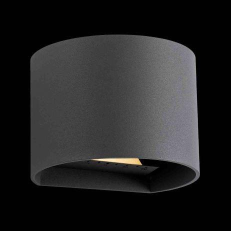 Goura Seinävalaisin LED antrasiitti