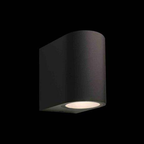 Gilvus Seinävalaisin LED musta