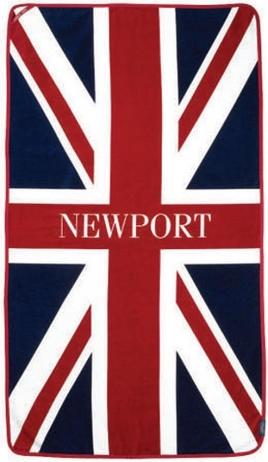Newport Rantapyyhe Union Jack