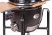 Keraaminen grilli Monolith Le Chef BBQ Guru Edition Pro-Serie 1.0 musta