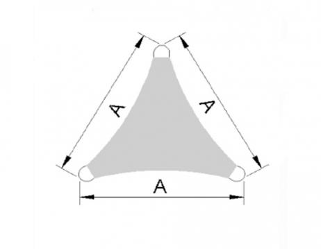 Caravita PREMIUM Aurinkopurje kolmio