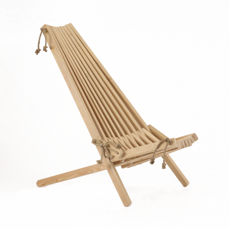 EcoFurn Ekosetti lehtikuusi 2 tuolia ja 1 sivupöytä