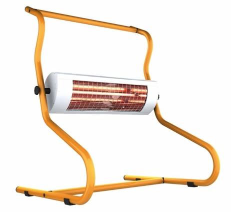 Työmaalämmitin Solamagic 1400 ECO+ PRO katkaisijalla titaani/oranssi