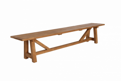 Sika-Design George tiikkipenkki