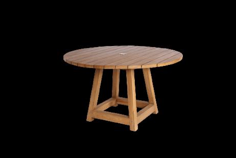Sika-Design George tiikkipöytä pyöreä