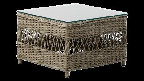 Sika-Design Anna sivupöytä/rahi