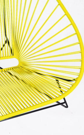Acapulco Love sohva keltainen