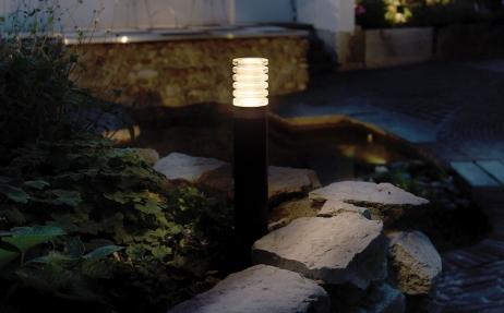 Arco Pylväsvalaisin LED musta
