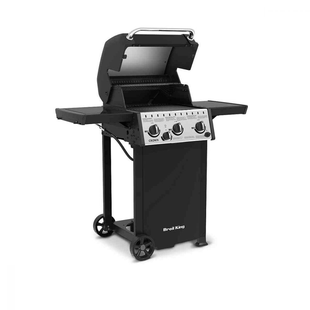Kaasugrilli Broil King Crown Classic 330 sivupolttimella