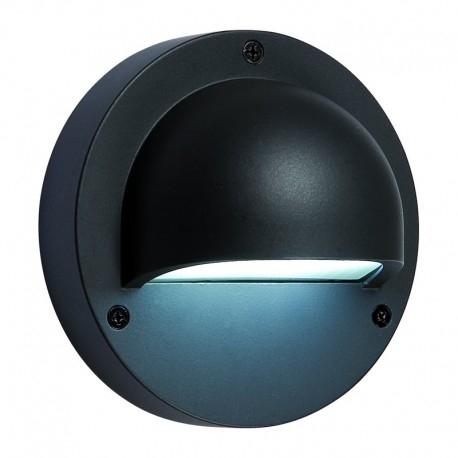 Deimos Seinävalaisin LED musta