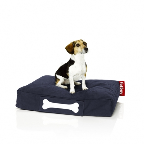 Fatboy Doggielounge stonewashed small dark blue