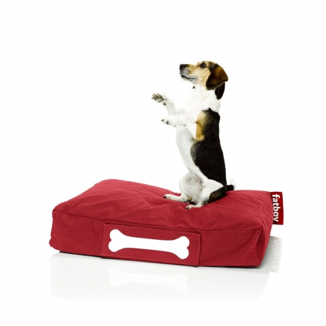 Fatboy Doggielounge stonewashed small red