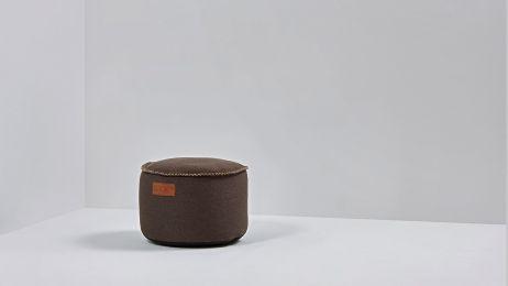 RETROit Canvas Drum dark brown