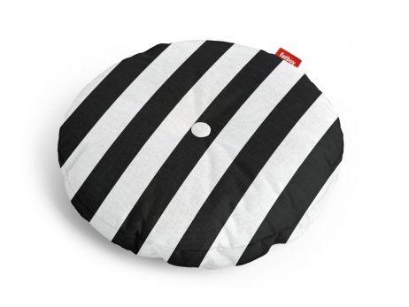 Fatboy Circle Pillow Outdoor stripe anthracite