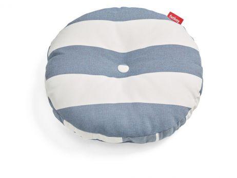 Fatboy Circle Pillow Outdoor stripe ocean blue