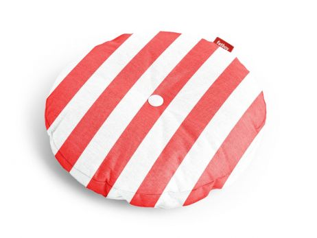 Fatboy Circle Pillow Outdoor stripe red