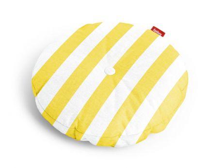 Fatboy Circle Pillow Outdoor stripe yellow