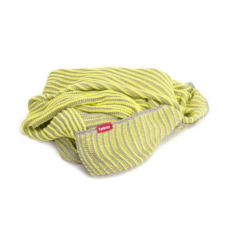Fatboy Klaid light grey/neon yellow