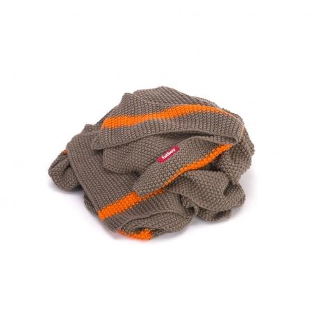 Fatboy Klaid taupe/neon orange stripe