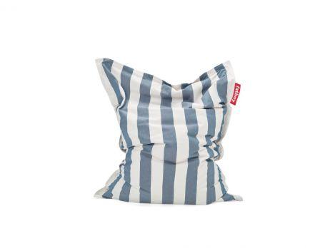Fatboy Original Outdoor stripe ocean blue