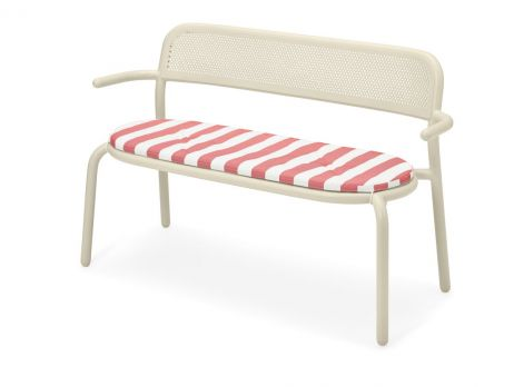 Fatboy Toni Bankski Pillow stripe red