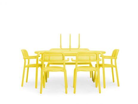 Fatboy Toni Tavolo ruokaryhmä lemon