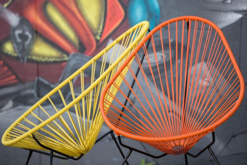 Acapulco tuoli oranssi