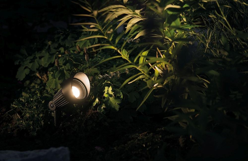 Focus Spottivalaisin LED musta