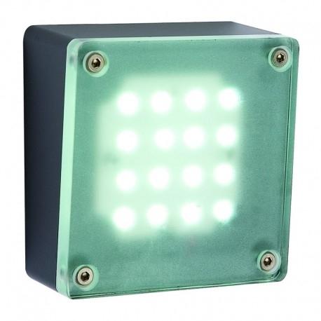 Halo Seinävalaisin LED antrasiitti