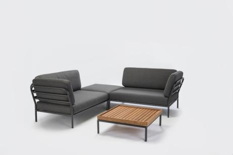 Moduulikulmasohva ja sohvapöytä Level