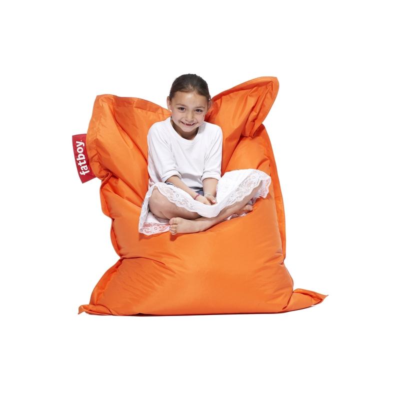 fatboy junior orange pihano solamagic finland. Black Bedroom Furniture Sets. Home Design Ideas