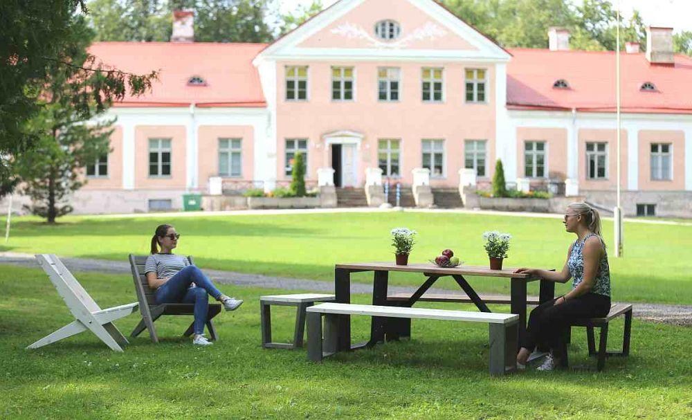EcoFurn Jussi Penkki musta/ruskea