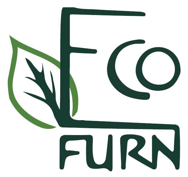 EcoFurn Lilly sivupöytä/rahi mänty ruskea