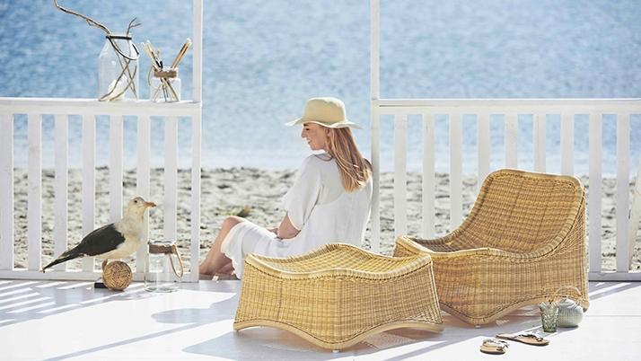 Sika-Design Chill lounge rahilla natural