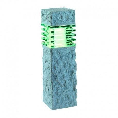 Nepos Pylväsvalaisin LED kiviefekti vaalea
