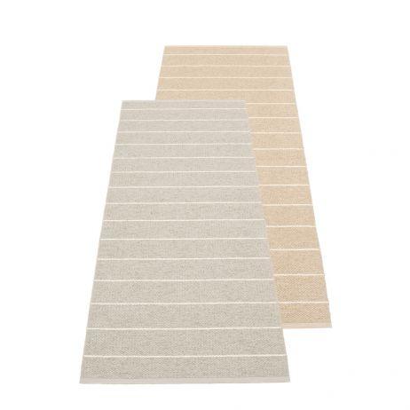 Pappelina Carl muovimatto linen/beige