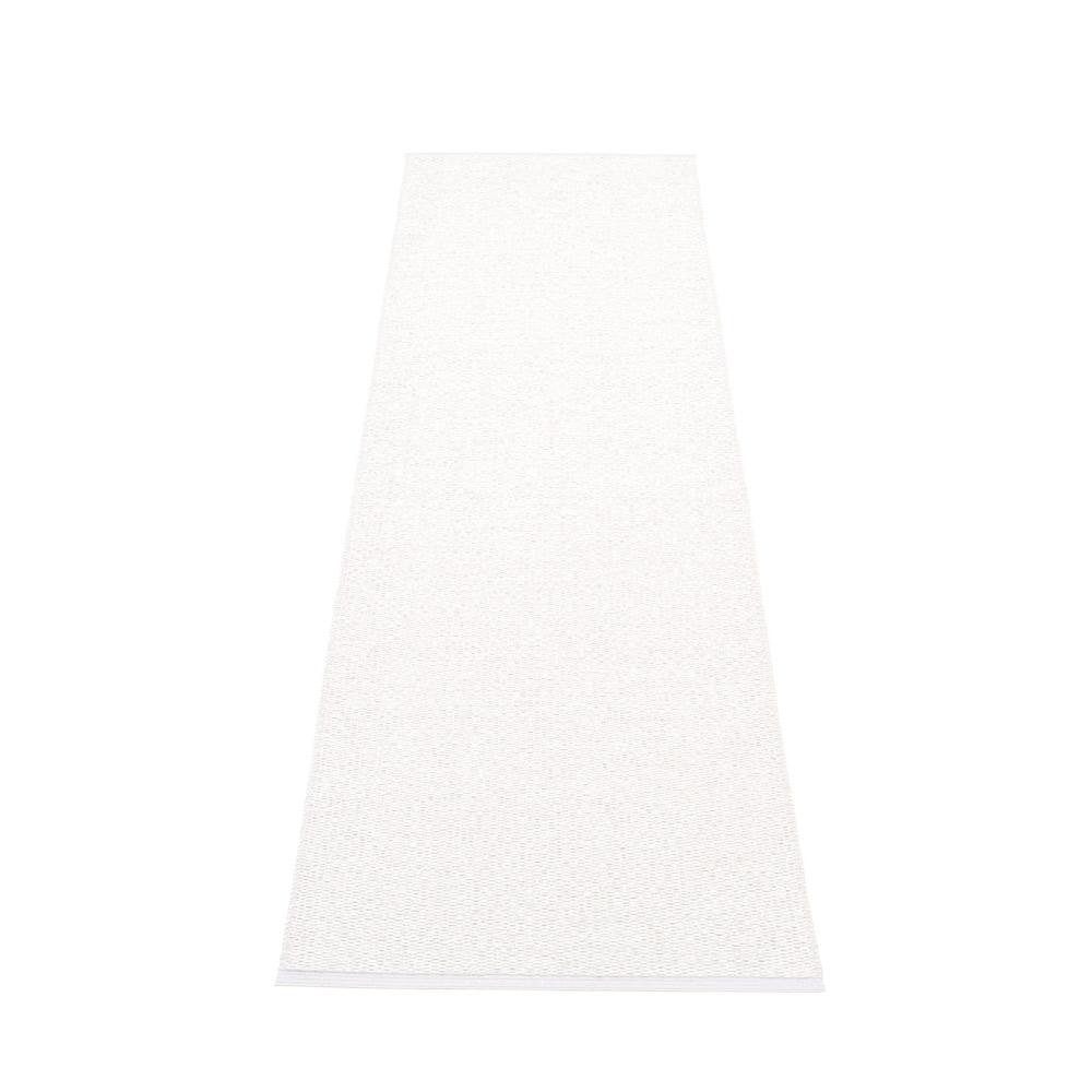 Pappelina Svea muovimatto white metallic