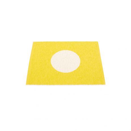 Pappelina Vera Small One muovimatto lemon-vanilla